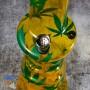 Акриловый бонг 32 см курительный Comfort Жёлтый