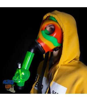 Бонг маска Противогаз Crazy Mask 420 для курения травы