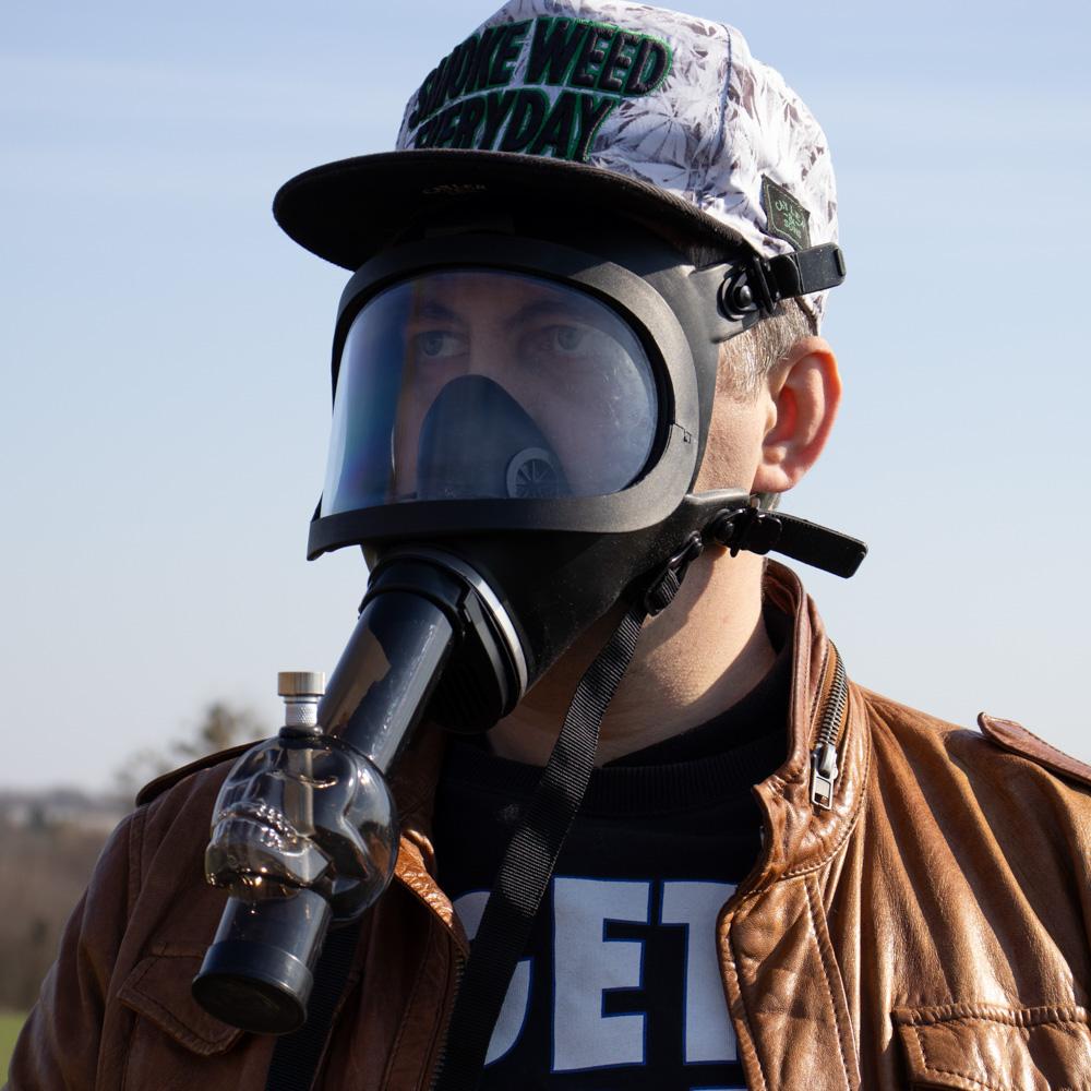Бонг Противогаз Во все тяжкие 420 Курительная маска
