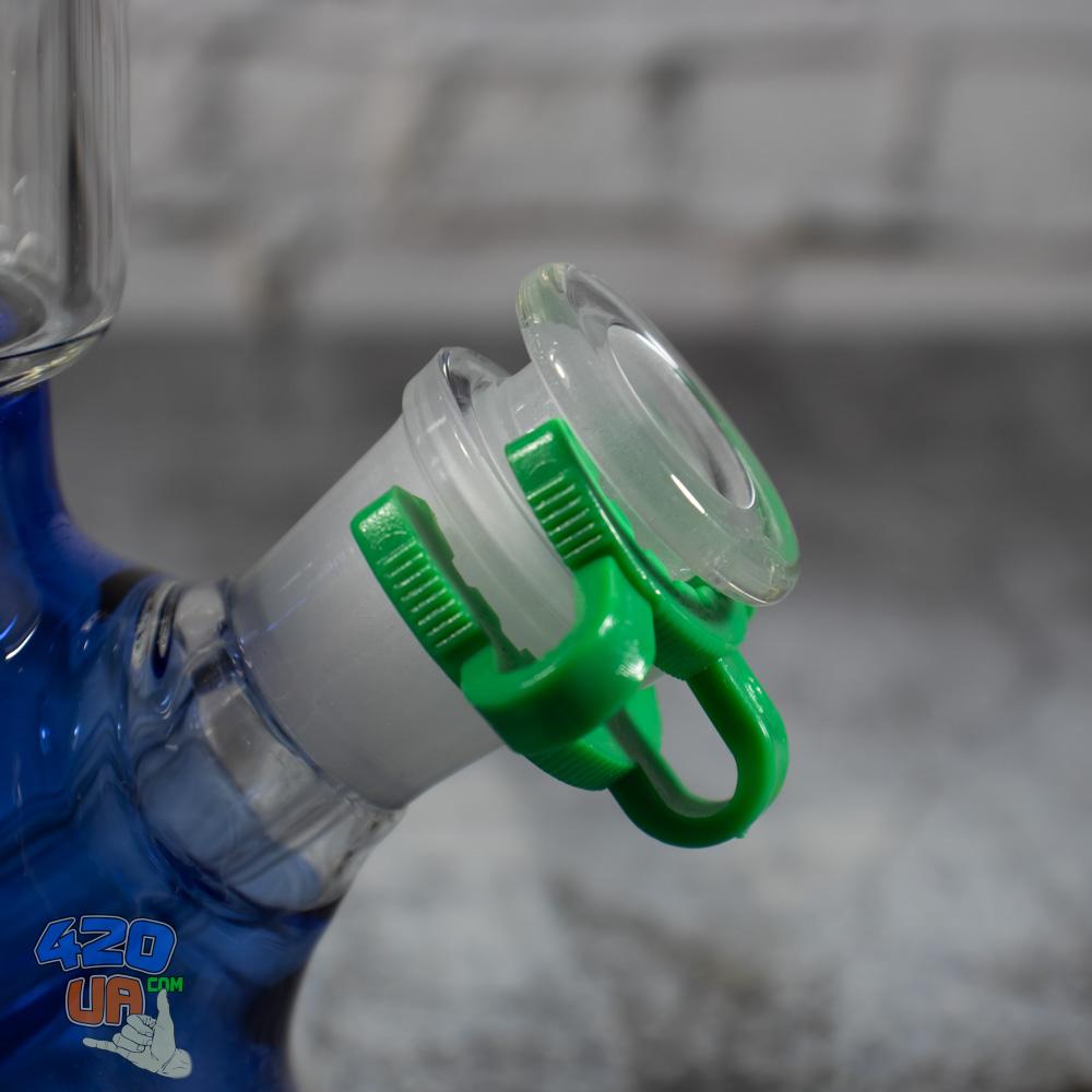 Пластиковая Клипса фиксатор для крепления стеклянного бонга 18,8 мм с шлифом адаптером