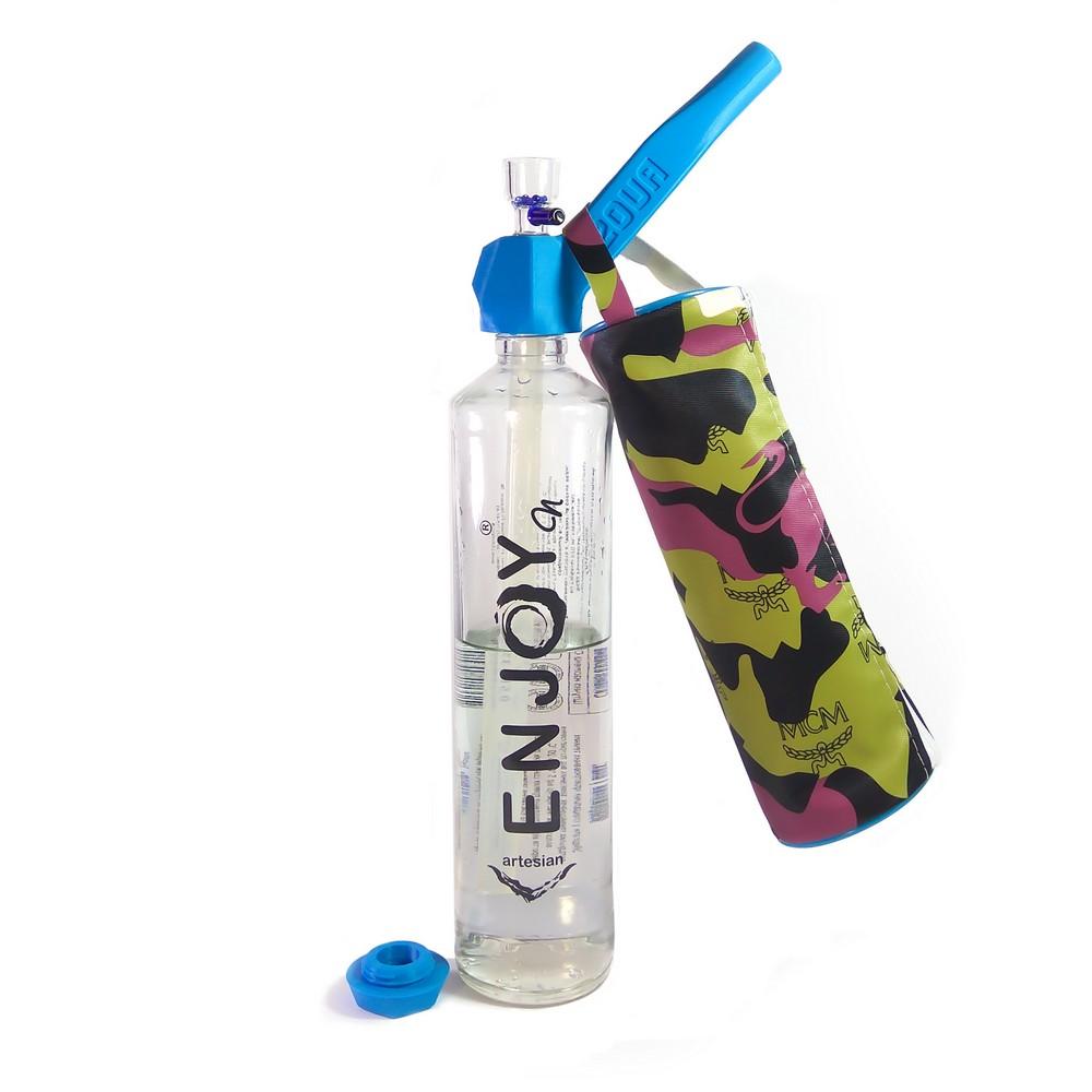 Трубка для курения трансформер 2 в 1 Easy Stoner 420UA Blue