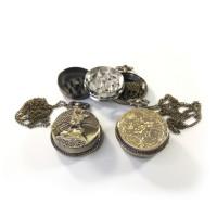 Гриндер Карманные часы на цепочке Металлический Крешер для травы