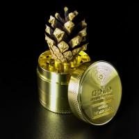 Гриндер Золотой для измельчения сухих трав