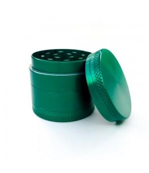 Карманный гриндер Green 40мм для травы из четырех металлических частей