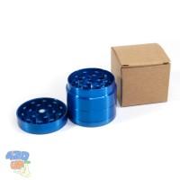 Ручной металлический гриндер 40 мм Синий 4 части