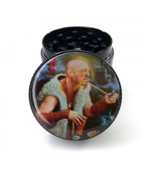 Гріндер для табака Козак 40 мм металічний подрібнювач 4 частини