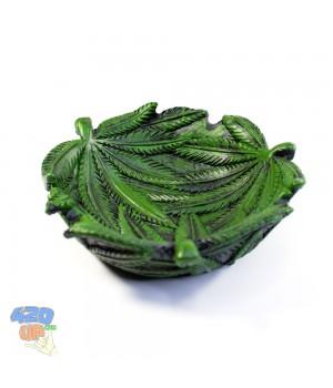 Пепельница Green Weed 420 Листья конопли - Пепельница для курения