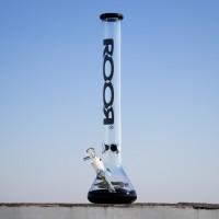 Большой стеклянный премиум бонг RooR 50 см из толстого 5мм стекла
