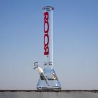 Стеклянный мощный бонг для курения RooR Высота 44 см Германия