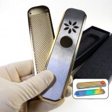Курительная трубка радиатор Genius Gold для курения шишек