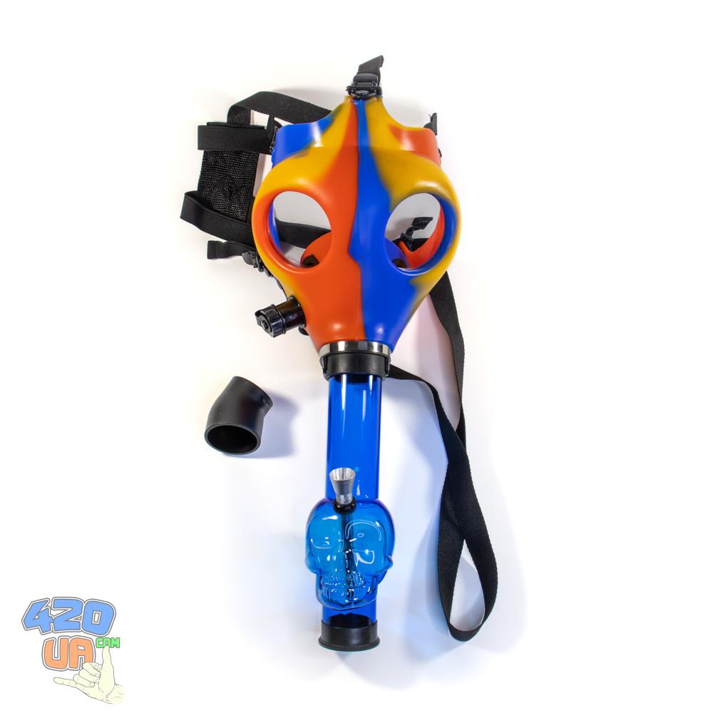 Бонг маска для курения