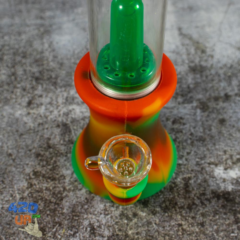 Курительный силиконовый бонг  для курения марихуаны