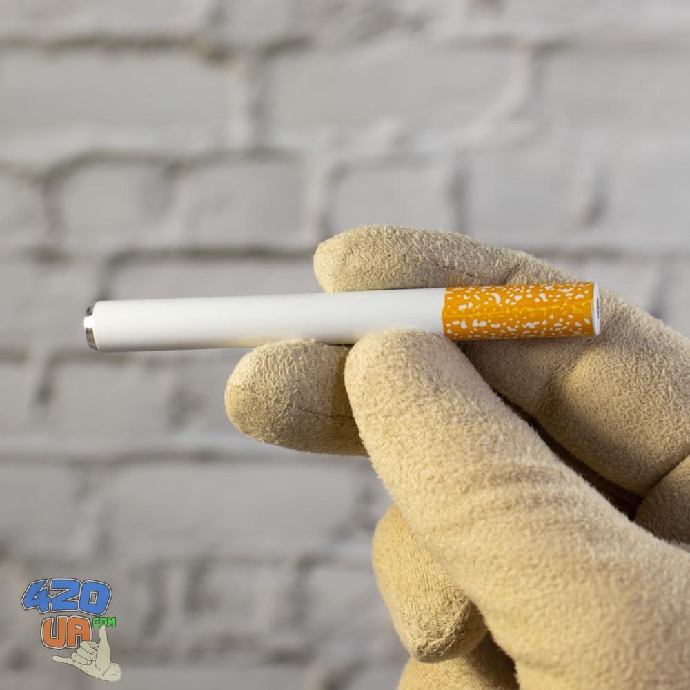 Пипетка Сигаретка алюминиевая стелс трубка чиллум