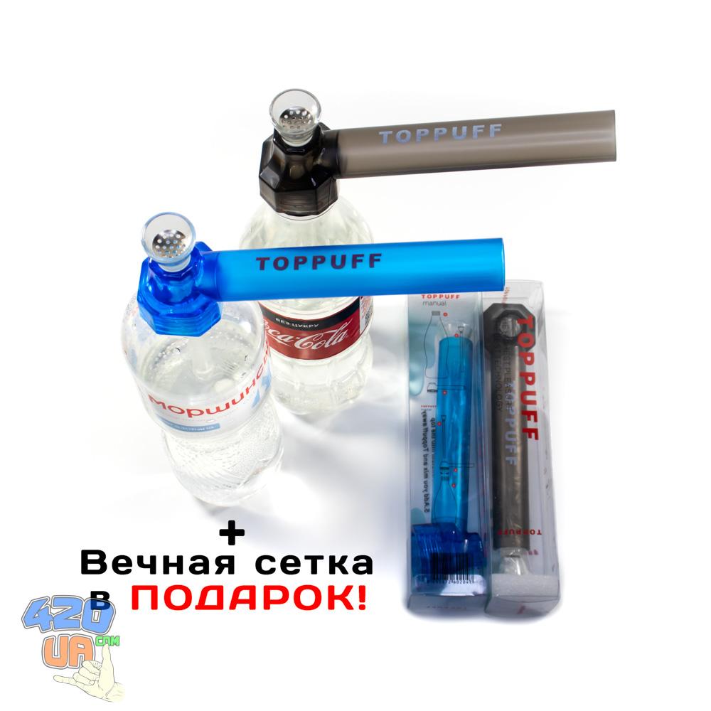 Походный бонг TopPuff Синий
